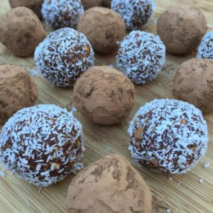 Jaffa Chocolate Bliss Balls