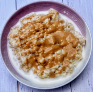 Peanut Butter Twist Porridge